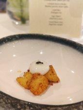 Crispy Potato Buttermilk Sphere