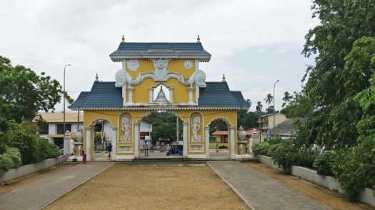Buddha Temple Gate
